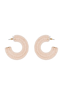 Gold Plated Hoop Earrings by Bansri