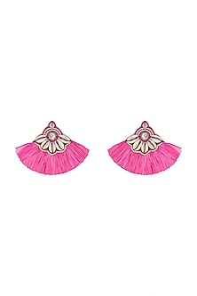 Sequins & Tassel Earrings by Bansri