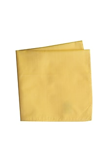 Yellow Assorted Pocket Square by Bubber Couture