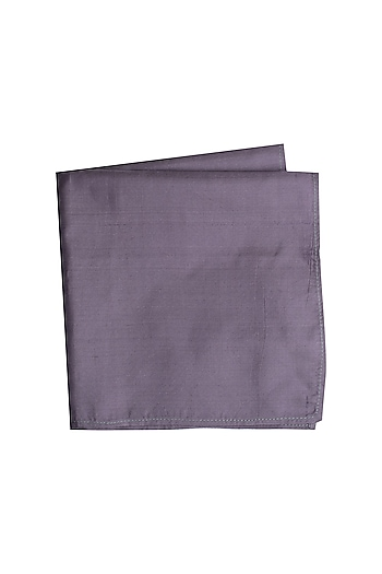 Grey Assorted Pocket Square by Bubber Couture