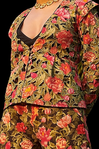 Multi Colored Printed Jumpsuit by Chandrima