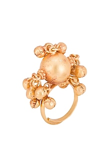 GOLD PLATED RING by Chhavi's Jewels