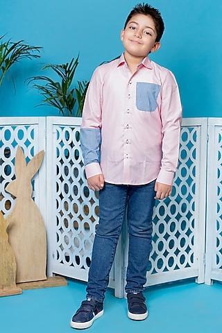 Pink Checkered Shirt by Little Boys Closet