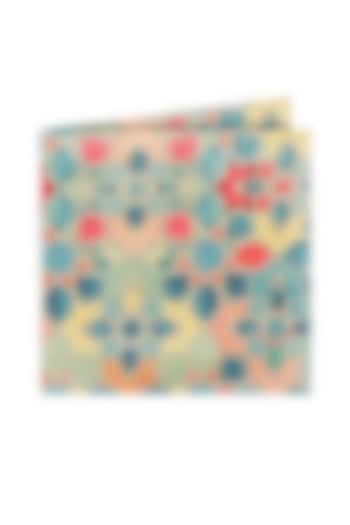Multi Colored Silk Pocket Square by Closet Code