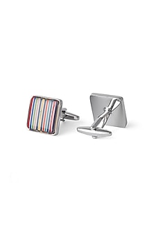 Multi Coloured Cufflinks by Closet Code