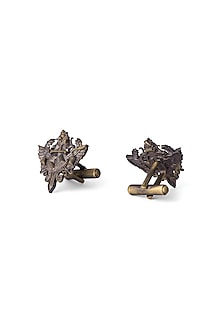 Antique Gold Finish Cufflinks by Cosa Nostraa