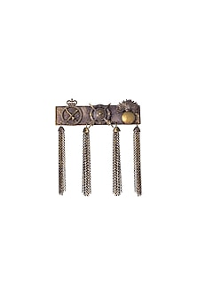 Antique Gold Finish Alexander Brooch by Cosa Nostraa