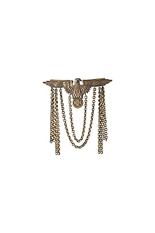 Antique Gold Finish Eagle Brooch by Cosa Nostraa