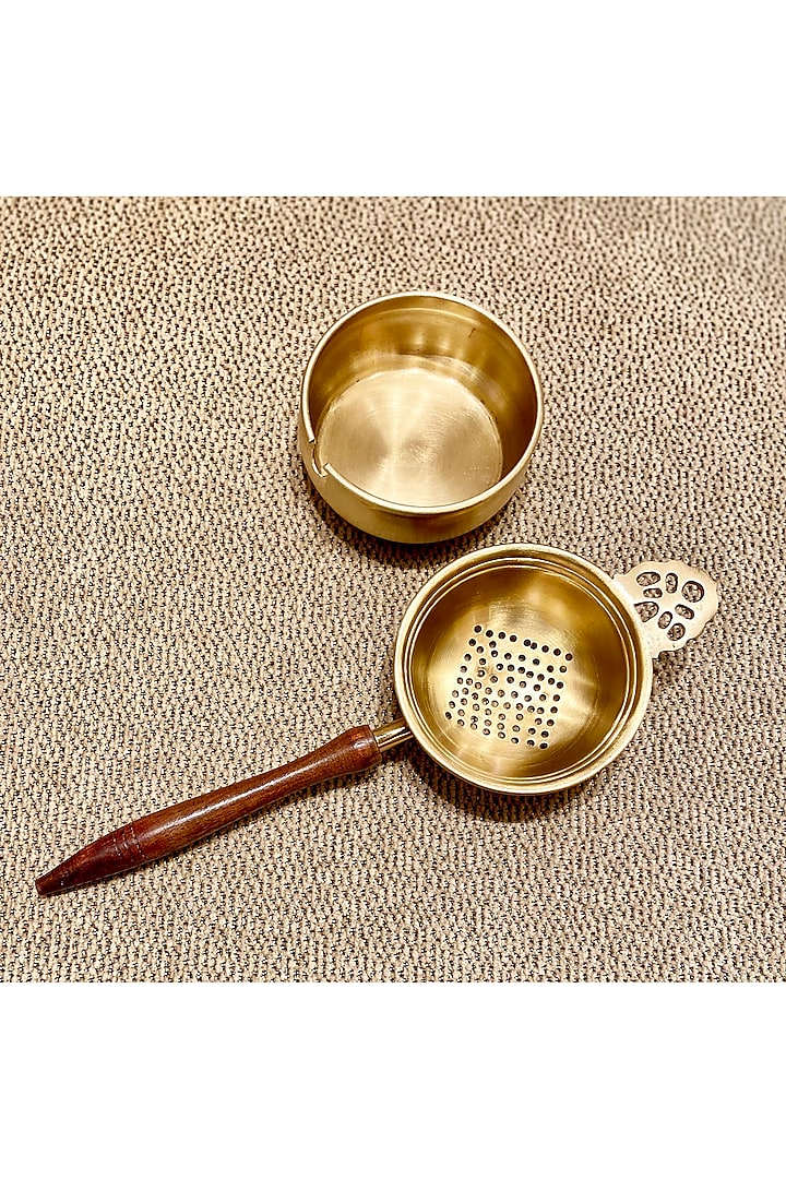 Champagne Tea Strainer (Set of 2) by Conscious Co
