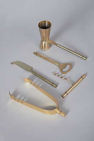 Gold Bar Set (Set of 5) by Conscious Co