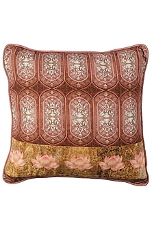 Gold & Pink Canvas Cushion Covers (Set of 2) by Artychoke