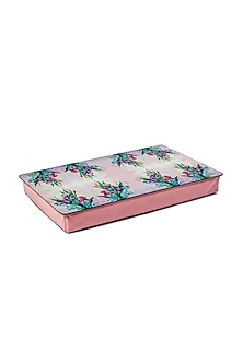 Pastel Pink Watercolor Lap Table by Artychoke