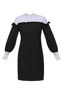 Black Osho Dress by Sameer Madan