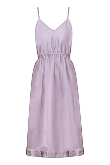 Lavender Thistle Tinkerbell Dress by Sameer Madan