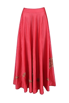 Sindhoori Panelled Skirt by Vandana Dewan