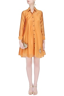 Naarangi Shirt Dress by Vandana Dewan