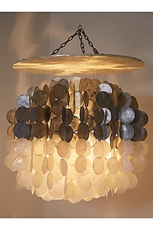 Silver & White Chandelier (Big Size) by I Heart Homez