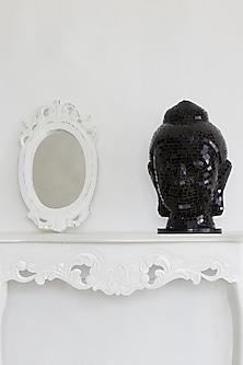 Buddha Mosaic Lamp In Black by I Heart Homez