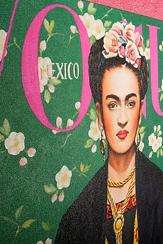 Magnificent Frida Kahlo Painting by I Heart Homez