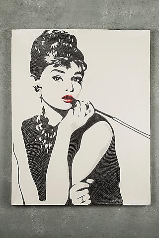 Beautiful Audrey Hepburn Painting by I Heart Homez
