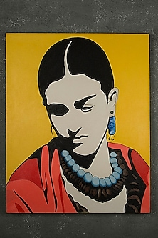 Charismatic Frida Kahlo Painting by I Heart Homez