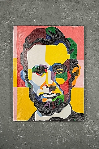 President Abraham Lincoln Painting by I Heart Homez
