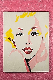 Marilyn Monroe Canvas Painting by I Heart Homez