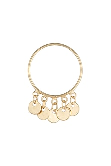 Gold Plated Handcrafted Ring by Diane Singh