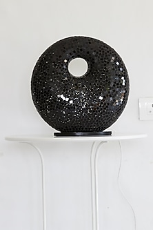 Ring Mosaic Lamp In Black by I Heart Homez