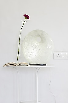 Ring Mosaic Lamp In White by I Heart Homez
