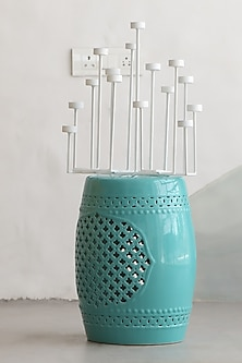 White Tealight Candle Holder by I Heart Homez