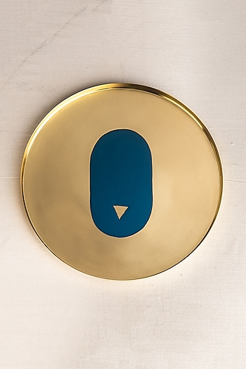 Fire Enameled Large Thaali by Ikkis