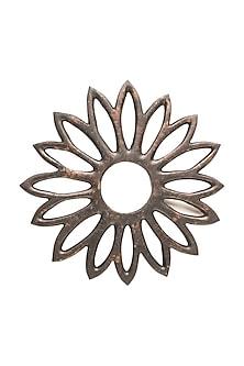 Rustic Flower Trivet (Set of 4) by Metl & Wood