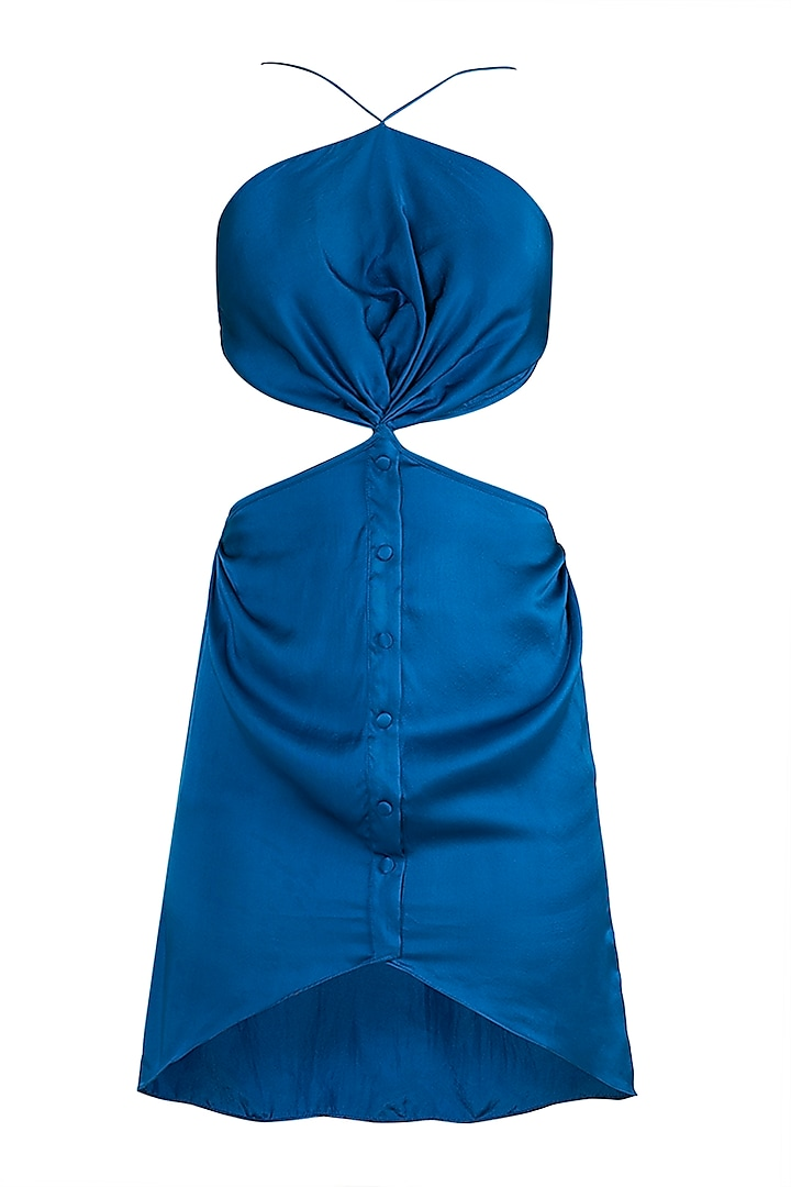 Electric Blue Mini Dress by Deme by Gabriella