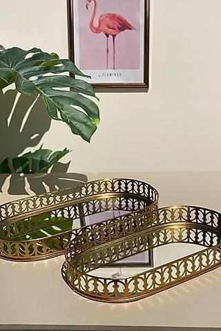 Golden Verona Mirror Tray by Mason Home