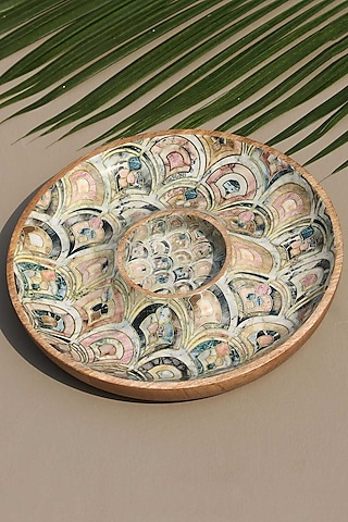 Brown Chip & Dip Serving Platter by Mason Home