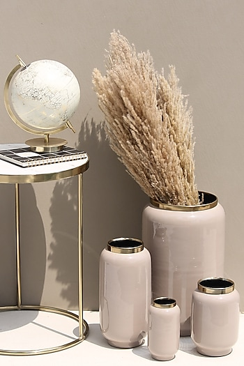 Beige Small Iris Vases by Mason Home