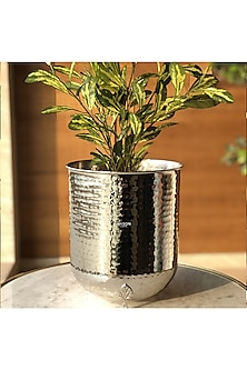 Silver Safi Planter by Mason Homes