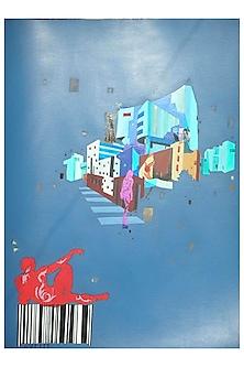 URBAN SKYLINE 1 by ABHIJIT PAUL X Mayinart