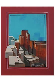 URBAN SKYLINE 5 by ABHIJIT PAUL X Mayinart