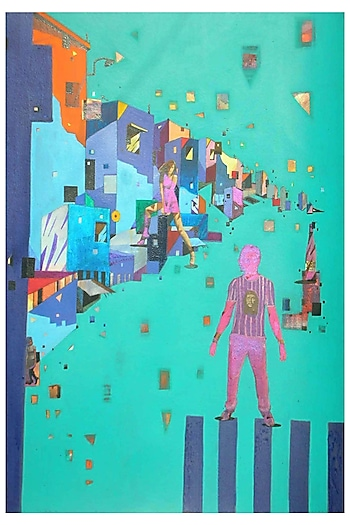 URBAN SKYLINE 7 by ABHIJIT PAUL X Mayinart