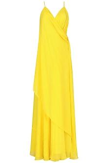 Yellow Corset Dress by Deme by Gabriella