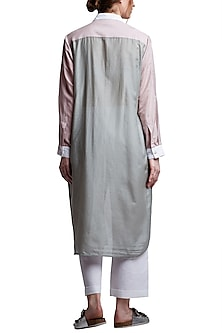 Grey Layered Tunic by Doodlage
