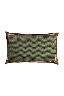 Green Baagh Pillow Sham With Filler by Ritu Kumar Home