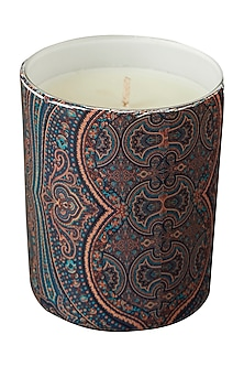 Blue Jaamevar Votive by Ritu Kumar Home