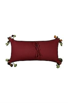 Multicolored Baagh Cushion With Filler by Ritu Kumar Home