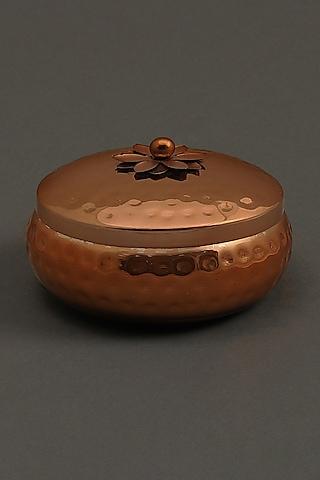 Copper Jasmine Tea Votive by Ritu Kumar Home