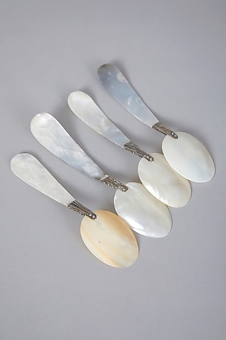 Silver Spoons (Set of 4) by Thoa