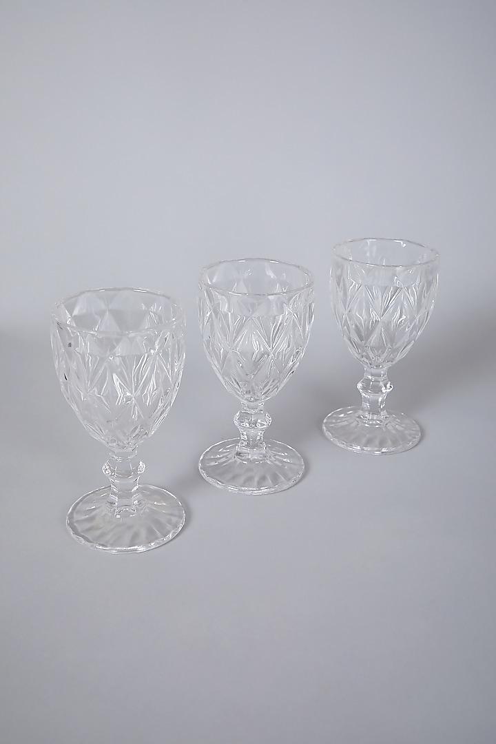 Transparent Glasses (Set of 3) by Thoa