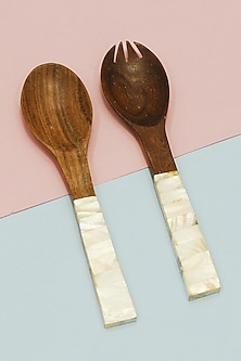 Pearl Salad Serving Spoons (Set of 2) by THOA